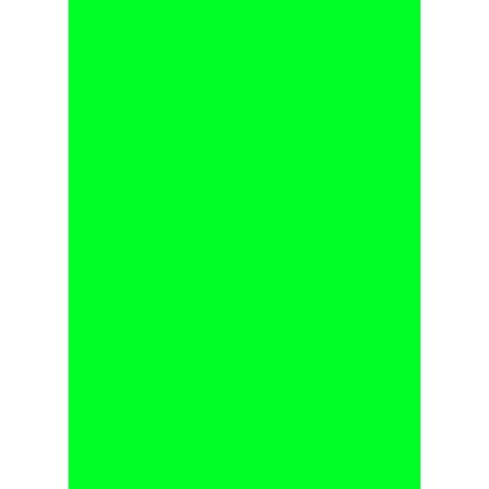 Prijskaartkarton fluor groen 4x6 cm 100 stuks