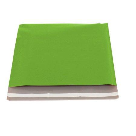 250 x Verzendzakken 50 x 46 cm. + 6,5 cm., Groen
