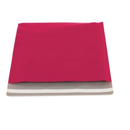 250 x Verzendzakken 40 x 30 cm. + 5 cm., Hot pink