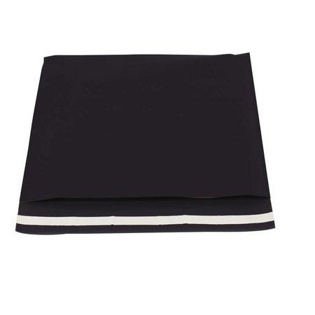250 x Verzendzakken 50 x 46 cm. + 6,5 cm., Zwart