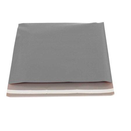 250 x Verzendzakken 40 x 30 cm. + 5 cm, Zilver