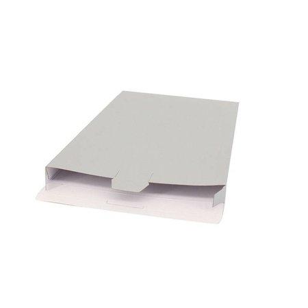 50 x Verzenddozen 24 x 2,9 x 35 cm., zilver