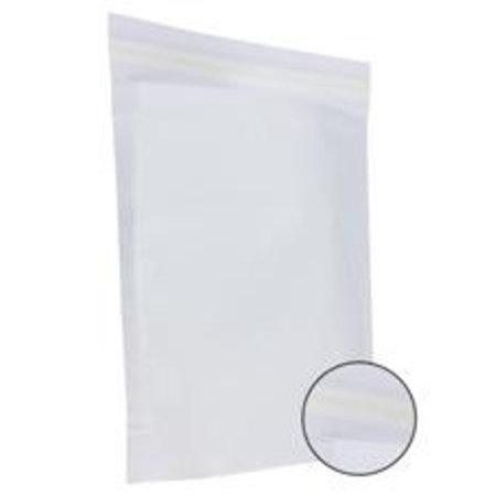 250 x Papieren verzendzakken 48 x 37 + 12 cm., wit