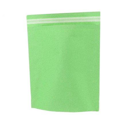 250 x Papieren verzendzakken 48 x 37 + 12 cm., appel groen