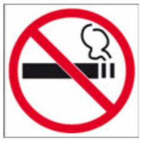Pictogram Roken verboden - achter glas