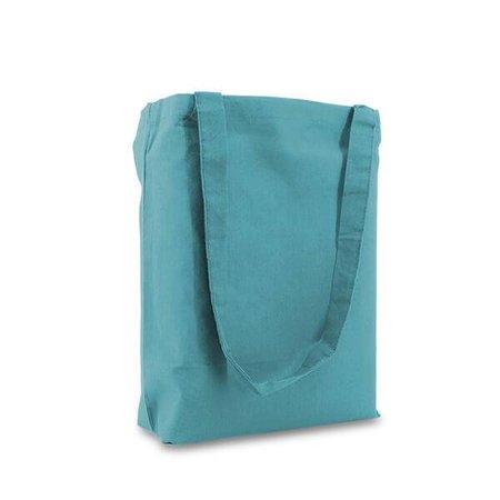 250 x Katoenen tassen 38 x 42 cm., Blauw