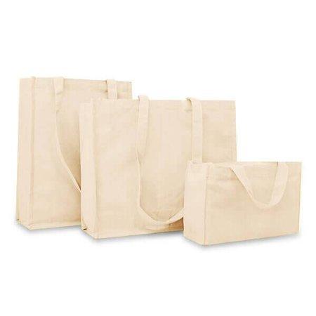 100 x Katoenen tassen 31 + 13 x 40 cm., Ecru