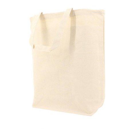 100 x Katoenen tassen 41 x 42 + 2 x 7 cm., Ecru