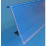 Scannerprofiel etiket 40mm transparant - Tego