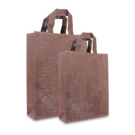 100 x ZEROTREE tassen - Leather-brown