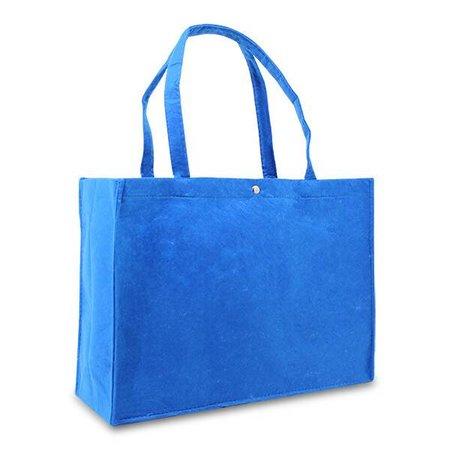50 x Vilten tassen 45 + 15 x 33 cm., Blauw