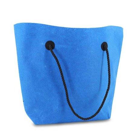 50 x Vilten tassen 37/47 x 33 + 8 cm., Blauw