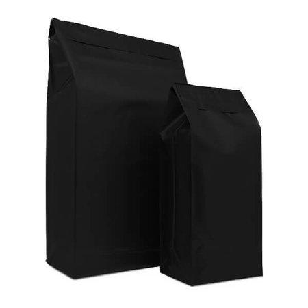 125 x Verzendzakken 30 + 14 x 47 cm. + 8 cm., zwart