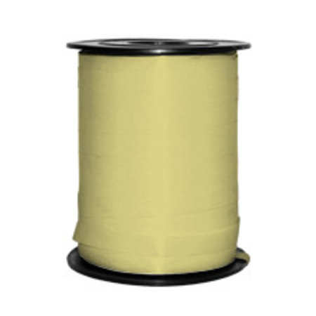 1 x Krullint 5 mm x 500 mtr., zachtgeel