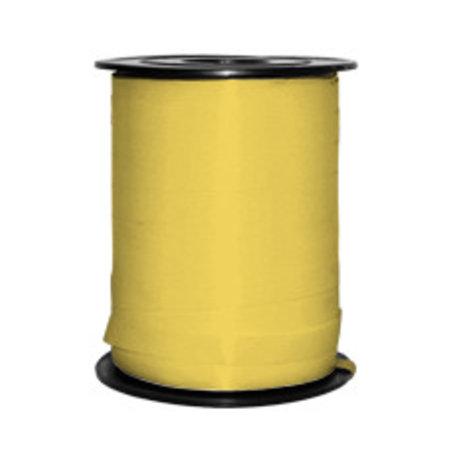 1 x Krullint 5 mm x 500 mtr., geel