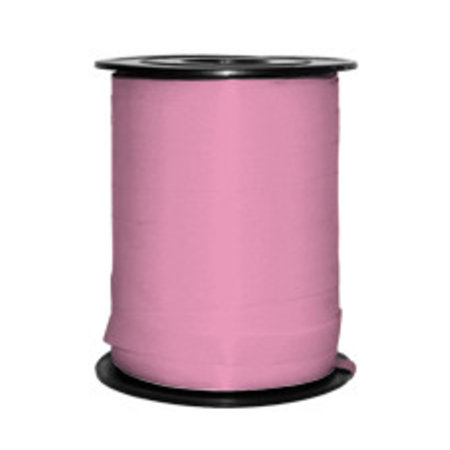 1 x Krullint 5 mm x 500 mtr., roze