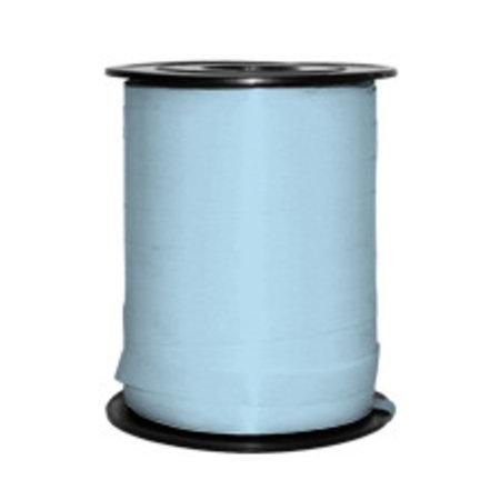 1 x Krullint 5 mm x 500 mtr., lichtblauw