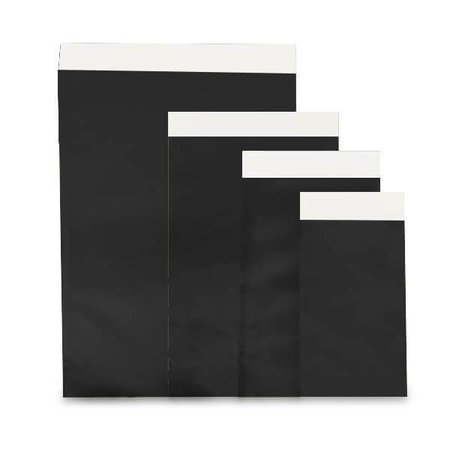 1000 x Geschenkzakjes zwart glanzend