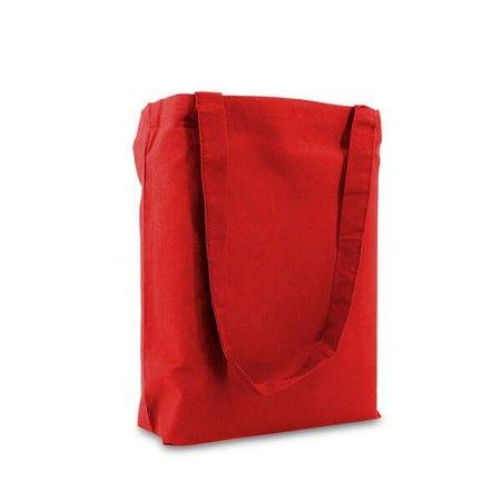 250 x Katoenen tassen 38 x 42 cm., Rood