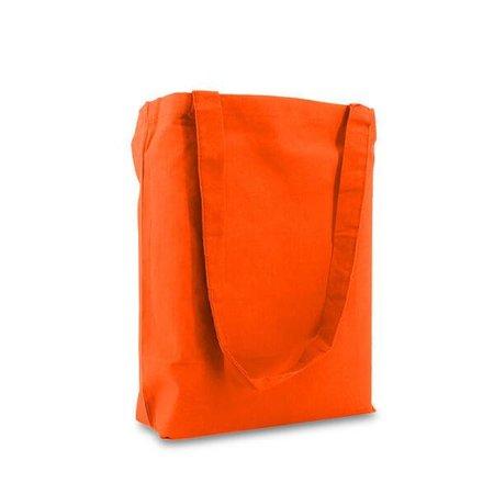250 x Katoenen tassen 38 x 42 cm., Oranje