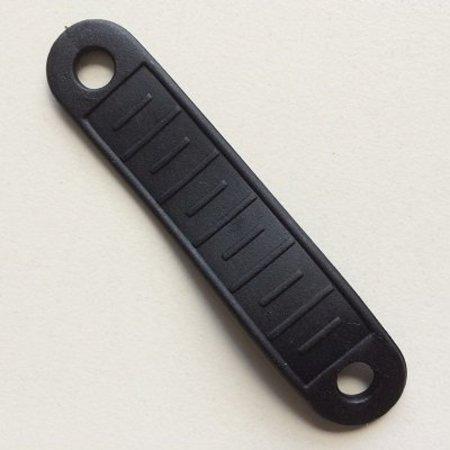 Rubberen Antislip voor houten kledinghangers, zwart