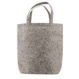 50 x Vilten Tote Bags 42 x 42 + 12cm Grijs