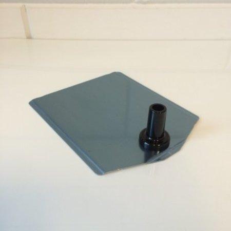 metalen voetplaat buishouder leverbaar in 8 kleuren