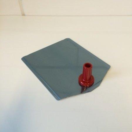 Voetplaat buishouder leverbaar in 8 kleuren