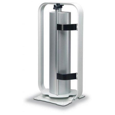 Papierafroller grijs 100cm - vertikaal