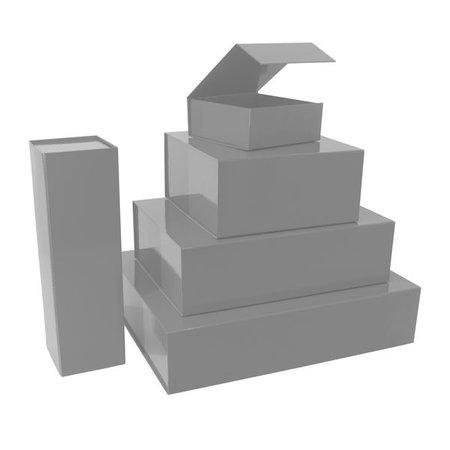 25 x Magneetdozen zilver
