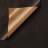Inpakpapier - Zwart-bruin Kraft - 200 meter