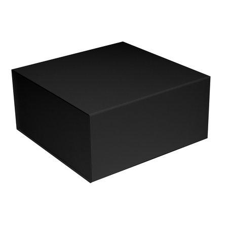 25 x Magneetdozen  zwart