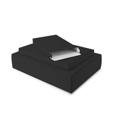 50 x Verzenddozen 24 x 2,9 x 35 cm., zwart