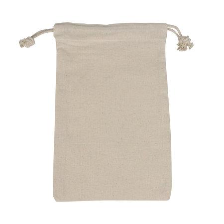 100 x Katoenen zakken met trekkoorden