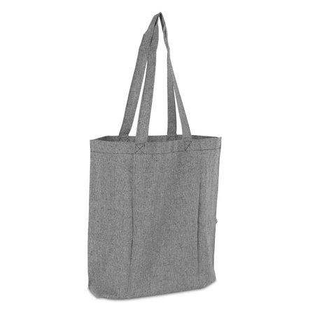 100 x Gerecyclede katoenen tassen - Zwart