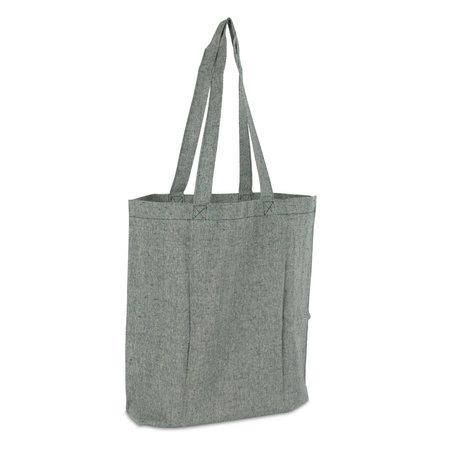 100 x Gerecyclede katoenen tassen - Groen