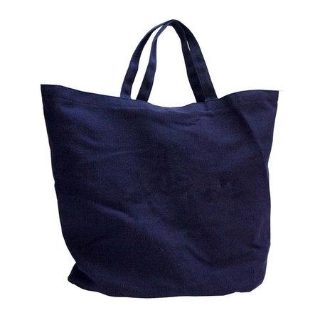 50 x Denim beach bags - Blauw
