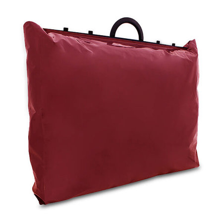 120 x Luxe plastic beugel tas - rood