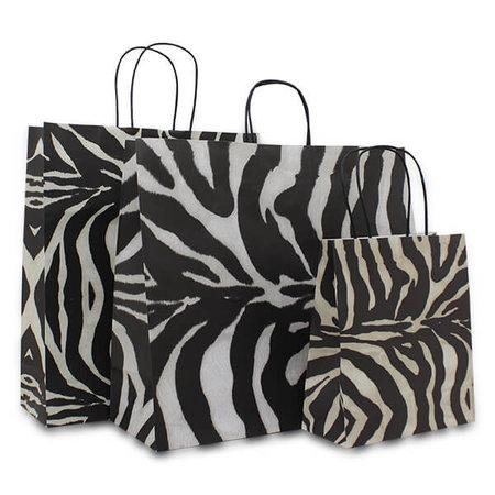 Papieren tas - Zebra