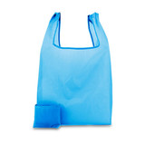 200 x Polyester opvouwbare tas - Blauw