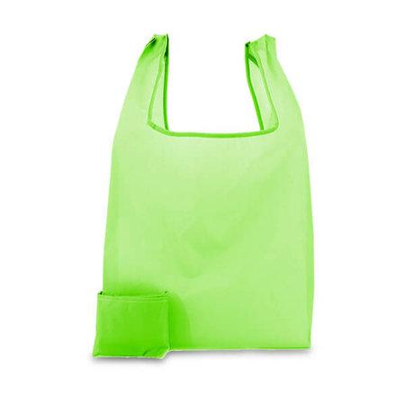 200 x Polyester opvouwbare tas - Groen