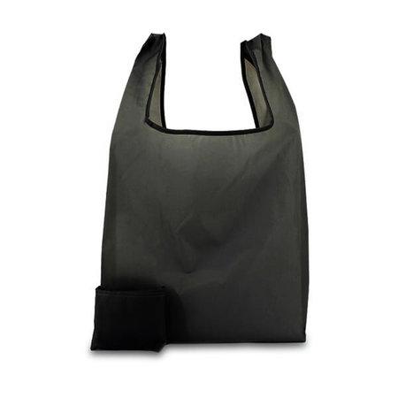 200 x Polyester opvouwbare tas - Zwart