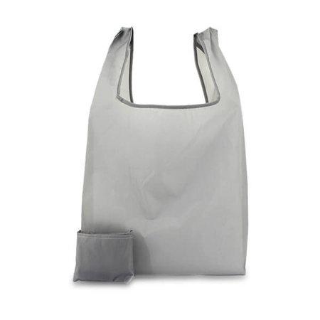 200 x Polyester opvouwbare tas - Grijs