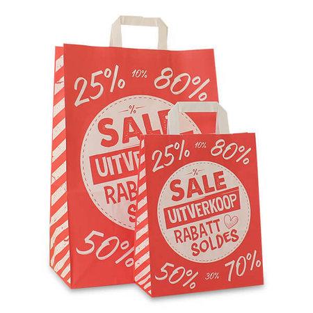 Budget papieren tassen - Sale