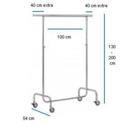 Kleiderständer - Verstellbar - Breite 100 cm
