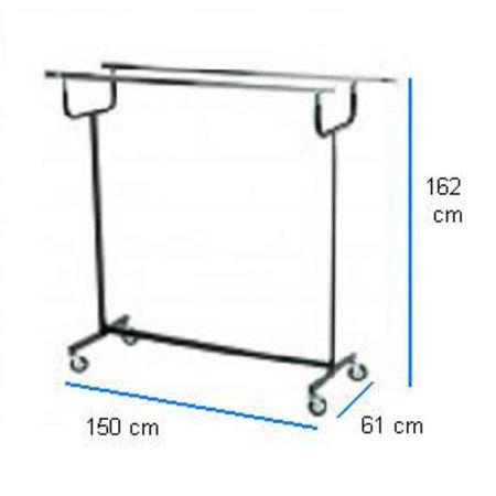 Doppelständer - Garderobenständer - Breite 150 cm