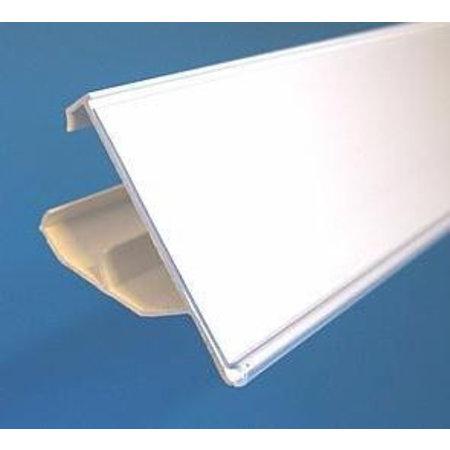 Scannerprofile weiß für Etikett 30mm hoch, 2 Positionen