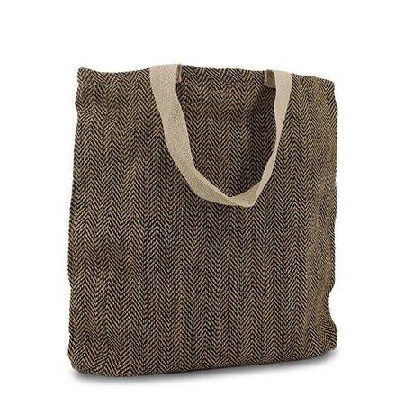 50 x Luxus Taschen Juca bags 45 x 45 + 2 x 3 cm., Schwarz