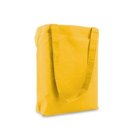 250 x Baumwoll Tragetaschen  38 x 42 cm., Gelb