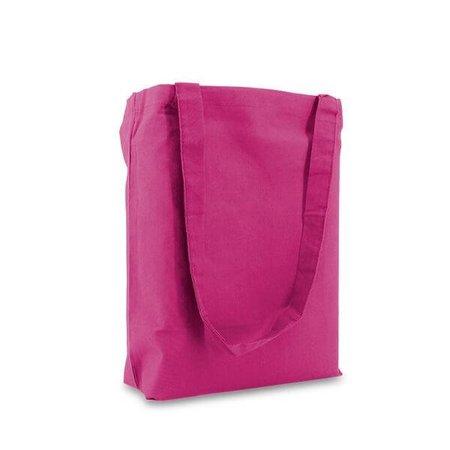 250 x Baumwoll Tragetaschen  38 x 42 cm., Pink